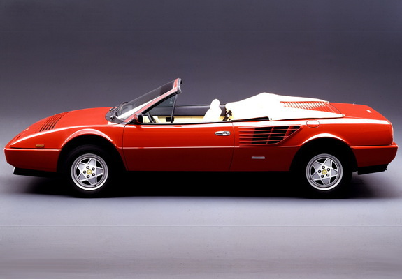images of ferrari mondial 3 2 cabriolet 1985 89. Black Bedroom Furniture Sets. Home Design Ideas