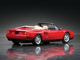 Photos of Ferrari Mondial T Cabriolet 1989–93