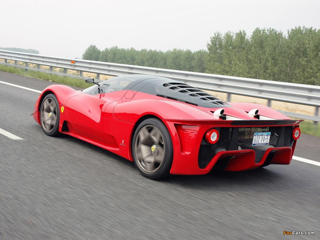 Ferrari P4/5 2006 wallpapers (1024 x 768)