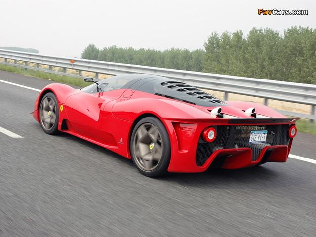 Ferrari P4/5 2006 wallpapers (640 x 480)