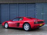 Ferrari Testarossa UK-spec 1986–92 photos