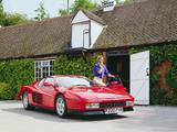 Images of Ferrari Testarossa UK-spec 1986–92