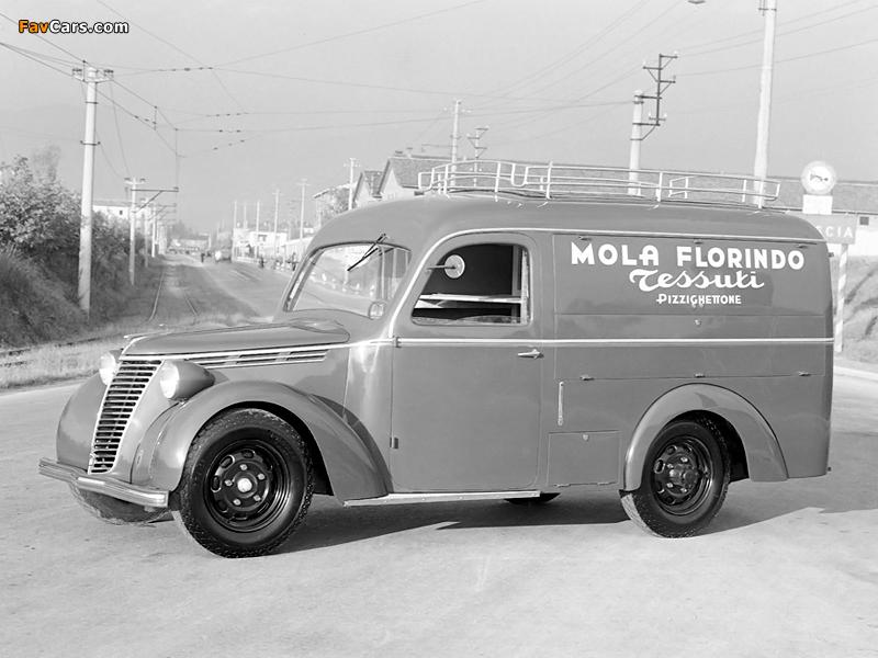 Fiat 1100 BLR Orlandi 1948–49 photos (800 x 600)