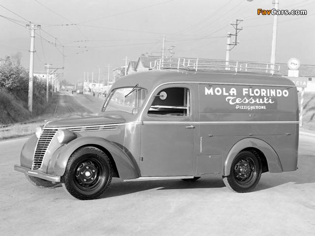 Fiat 1100 BLR Orlandi 1948–49 photos (640 x 480)