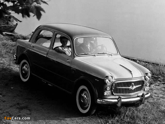 Fiat 1100 TV (103E) 1956–57 pictures (640 x 480)