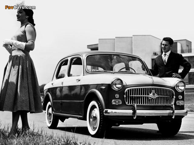 Fiat 1100 TV (103E) 1956–57 wallpapers (640 x 480)
