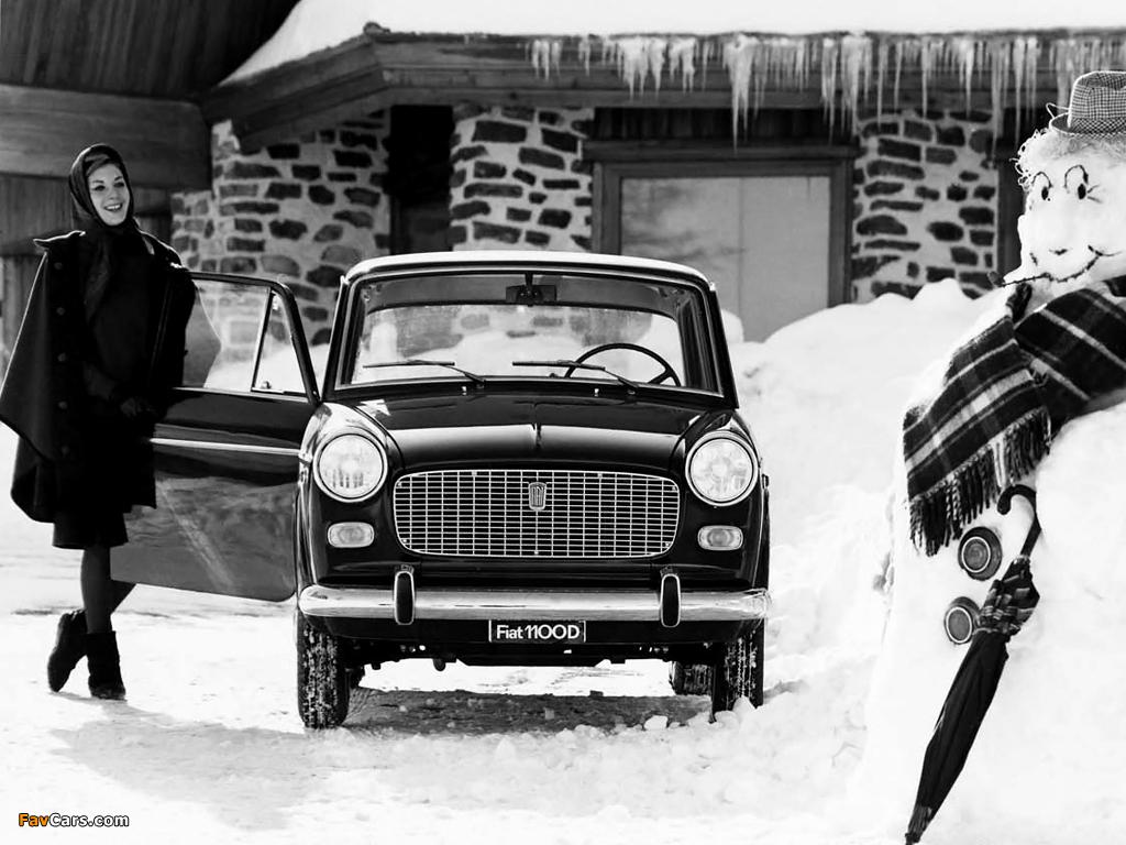 Fiat 1100 D (103G) 1962–66 pictures (1024 x 768)