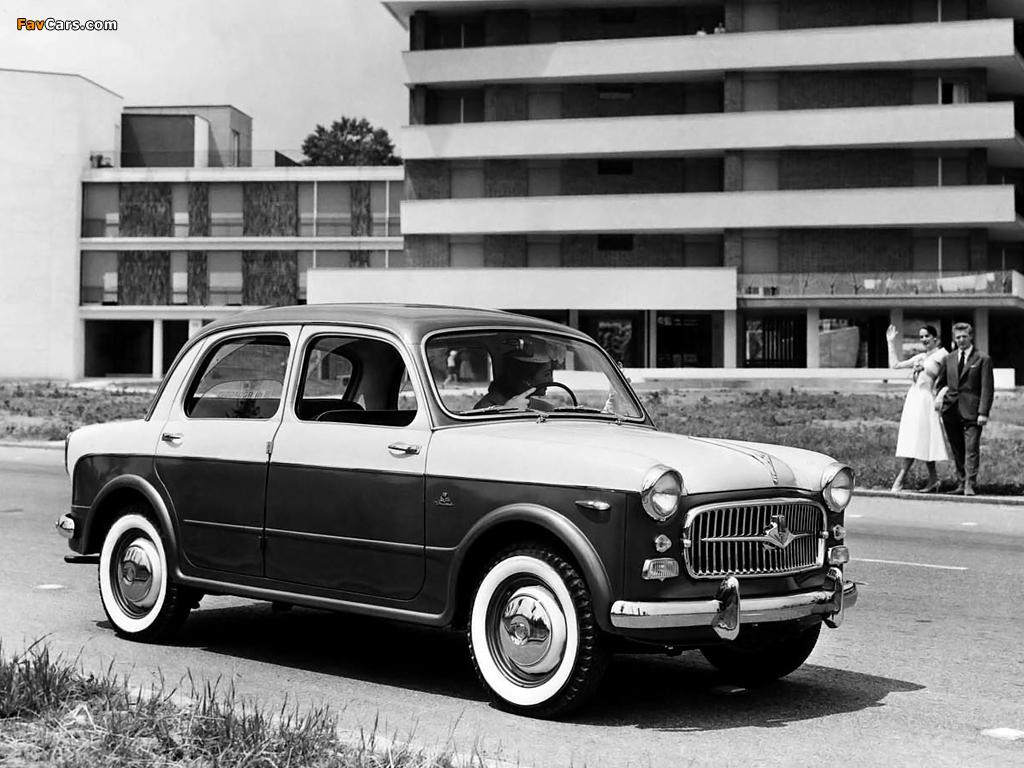 Images of Fiat 1100 TV (103E) 1956–57 (1024 x 768)