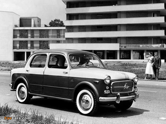 Images of Fiat 1100 TV (103E) 1956–57 (640 x 480)