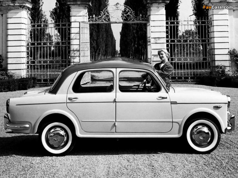 Images of Fiat 1100 (103D) 1957–60 (800 x 600)