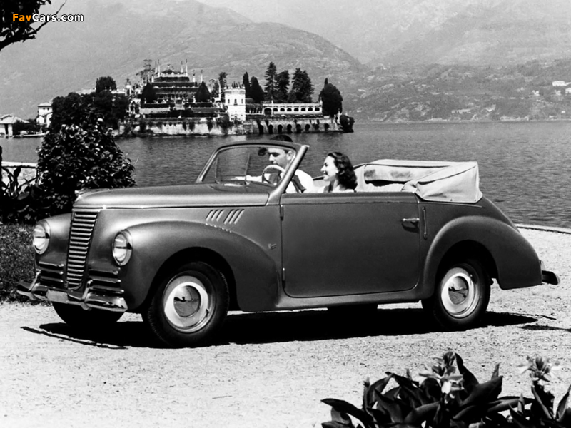 Pictures of Fiat 1100 B Cabriolet 1948–49 (800 x 600)