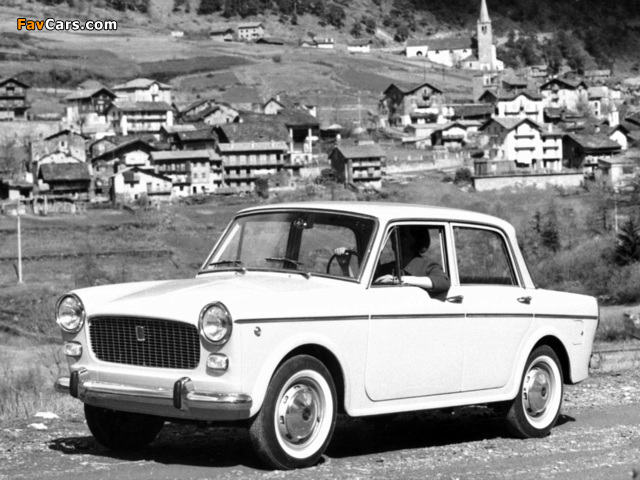 Pictures of Fiat 1100 D (103G) 1962–66 (640 x 480)
