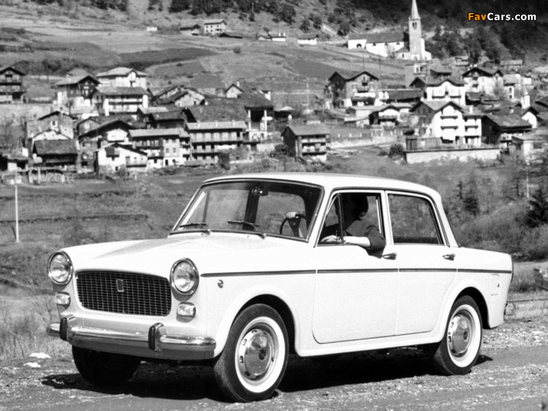 Pictures of Fiat 1100 D (103G) 1962–66 (800 x 600)