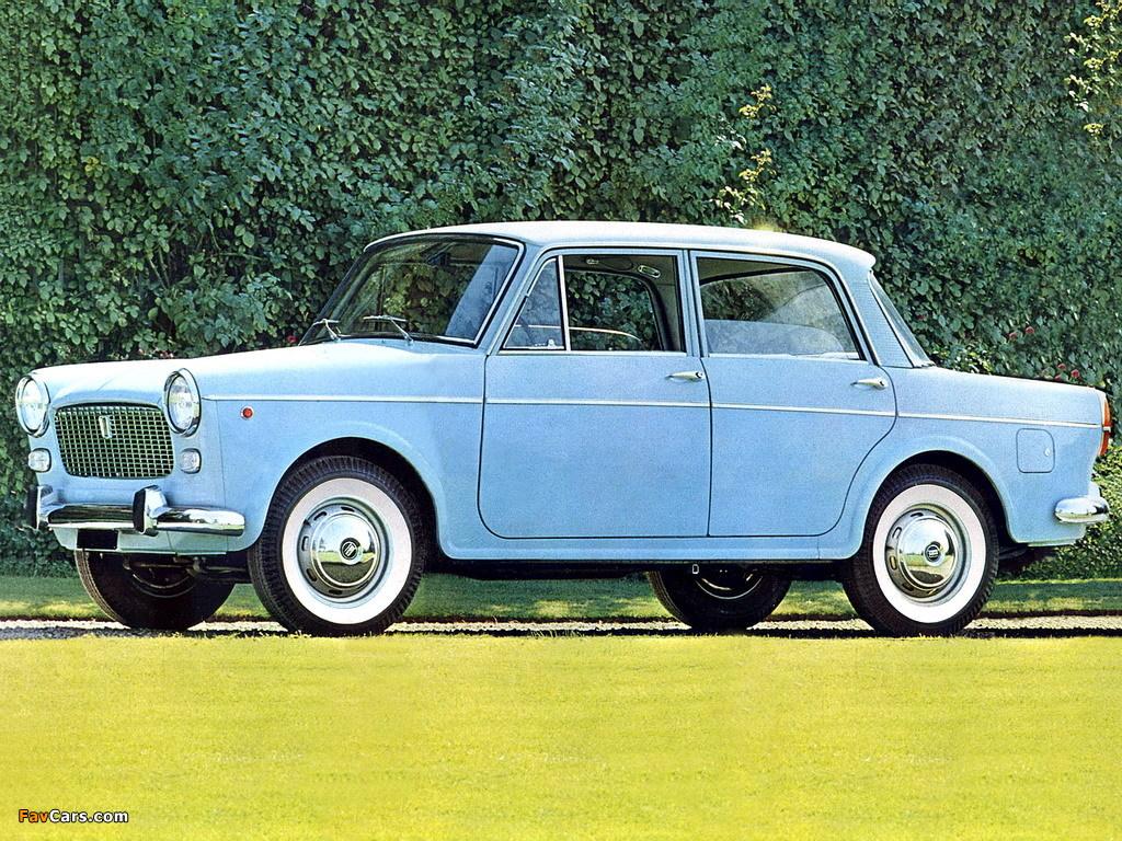 Fiat 1100 D (103G) 1962–66 wallpapers (1024 x 768)