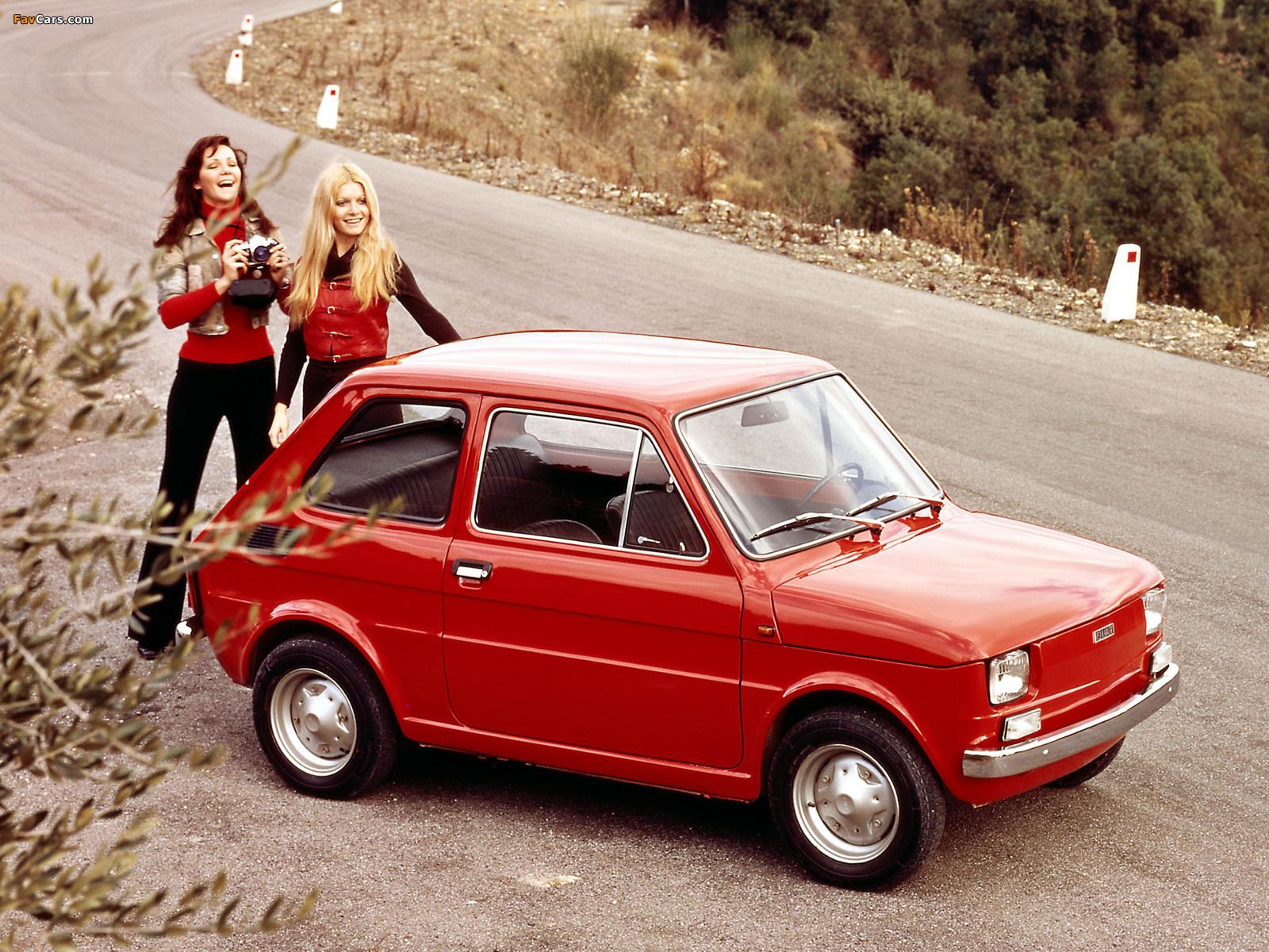 Fiat 126 1972–76 wallpapers (1600 x 1200)