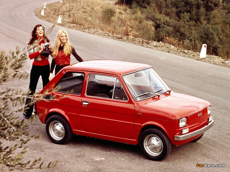 Fiat 126 1972–76 wallpapers (800 x 600)