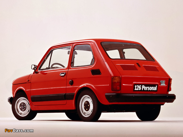 Images of Fiat 126 Personal 4 1976–85 (640 x 480)