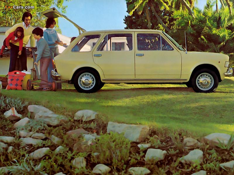 Fiat 128 Familiare 5-door 1969–76 pictures (800 x 600)