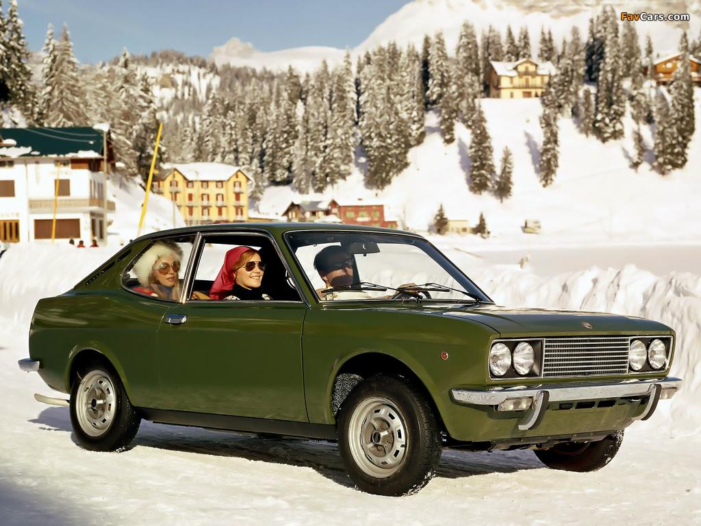 Fiat 128 Coupe SL 1971–75 images (1024 x 768)