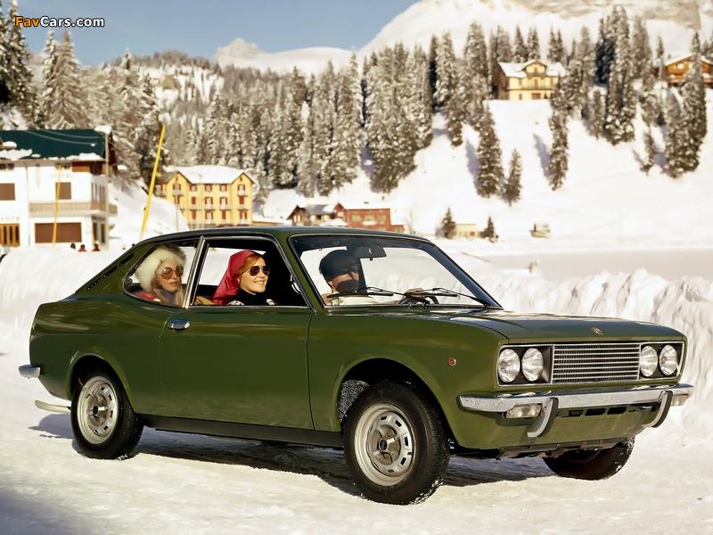 Fiat 128 Coupe SL 1971–75 images (800 x 600)