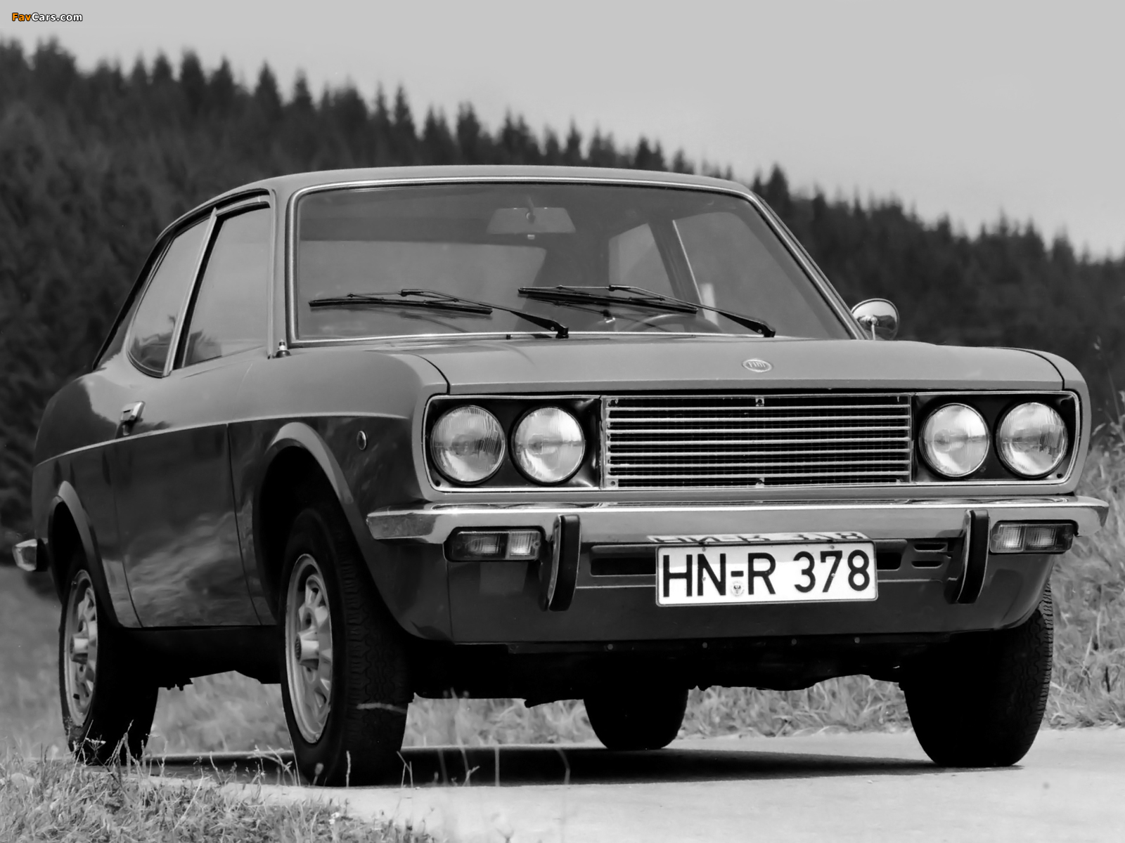 Fiat 128 Coupe SL 1971–75 wallpapers (1600 x 1200)