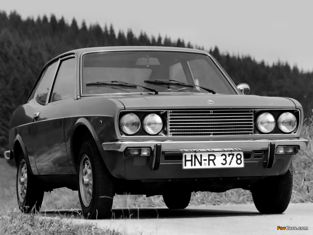 Fiat 128 Coupe SL 1971–75 wallpapers (1024 x 768)