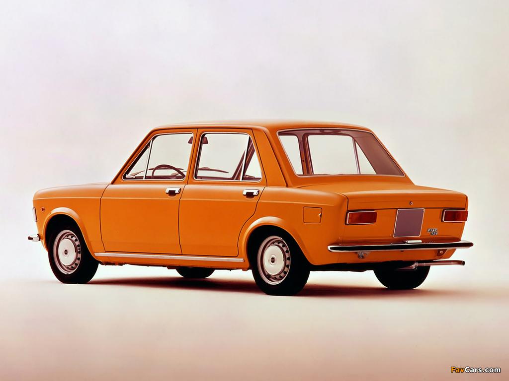 Fiat 128 1972–76 wallpapers (1024 x 768)