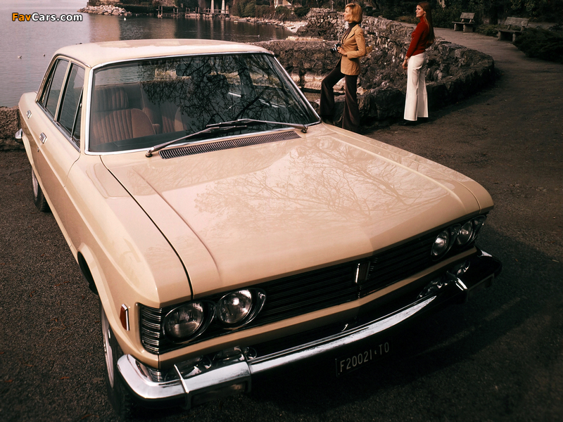 Fiat 130 Berlina 1969–76 photos (800 x 600)