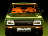 Pictures of Fiat 131 Supermirafiori 1978–81