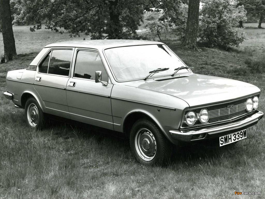 Fiat 132 UK-spec 1974–77 images (1024 x 768)
