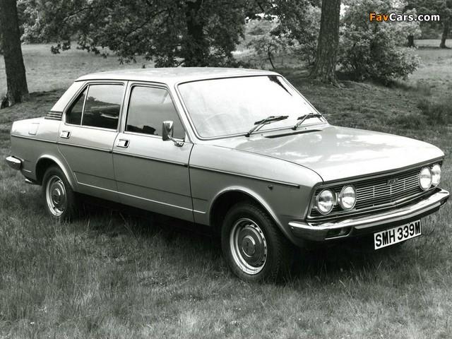 Fiat 132 UK-spec 1974–77 images (640 x 480)