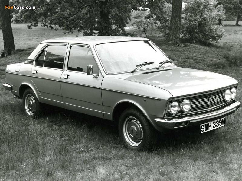 Fiat 132 UK-spec 1974–77 images (800 x 600)
