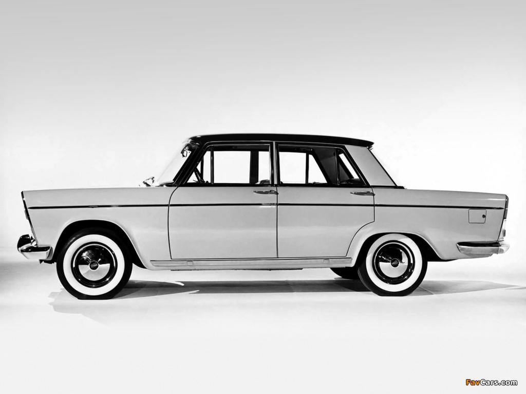 Fiat 1800/2100 (112/114) 1959–61 wallpapers (1024 x 768)