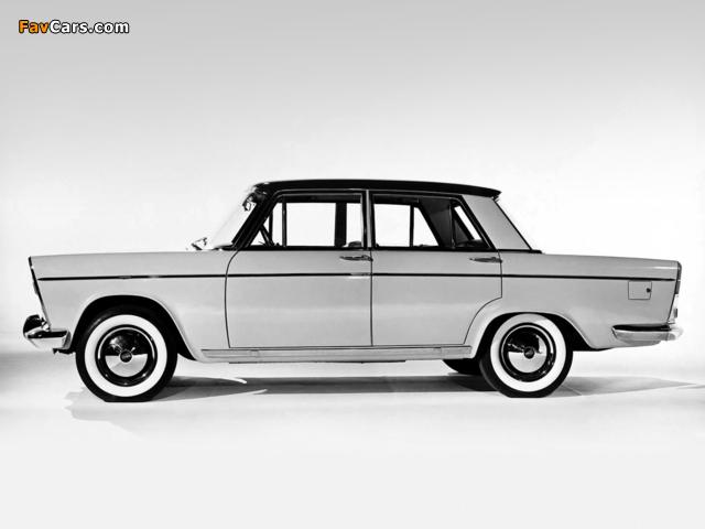 Fiat 1800/2100 (112/114) 1959–61 wallpapers (640 x 480)