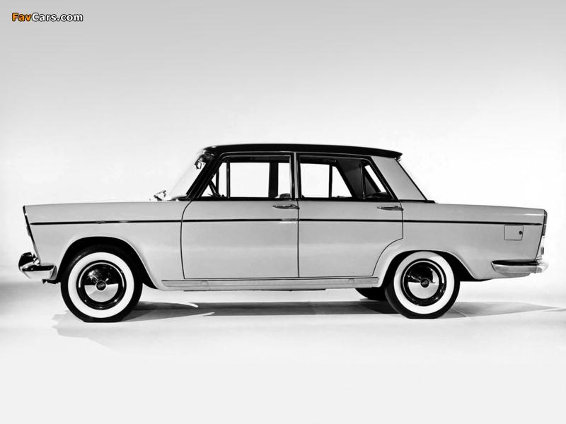 Fiat 1800/2100 (112/114) 1959–61 wallpapers (800 x 600)
