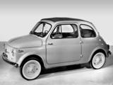 Fiat Nuova 500 (110) 1957–59 wallpapers