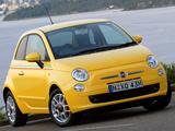 Fiat 500 Sport AU-spec 2008–12 images