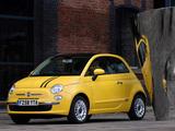 Fiat 500 UK-spec 2008 images