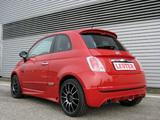 Lester Fiat 500 2008 photos