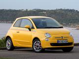 Fiat 500 Sport AU-spec 2008–12 pictures