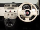 Fiat 500 Lounge JP-spec 2008 pictures
