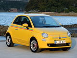 Fiat 500 Sport AU-spec 2008–12 wallpapers