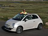 Fiat 500C UK-spec 2009 photos