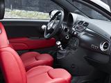 Fiat 500 Matt Black 2010–12 images