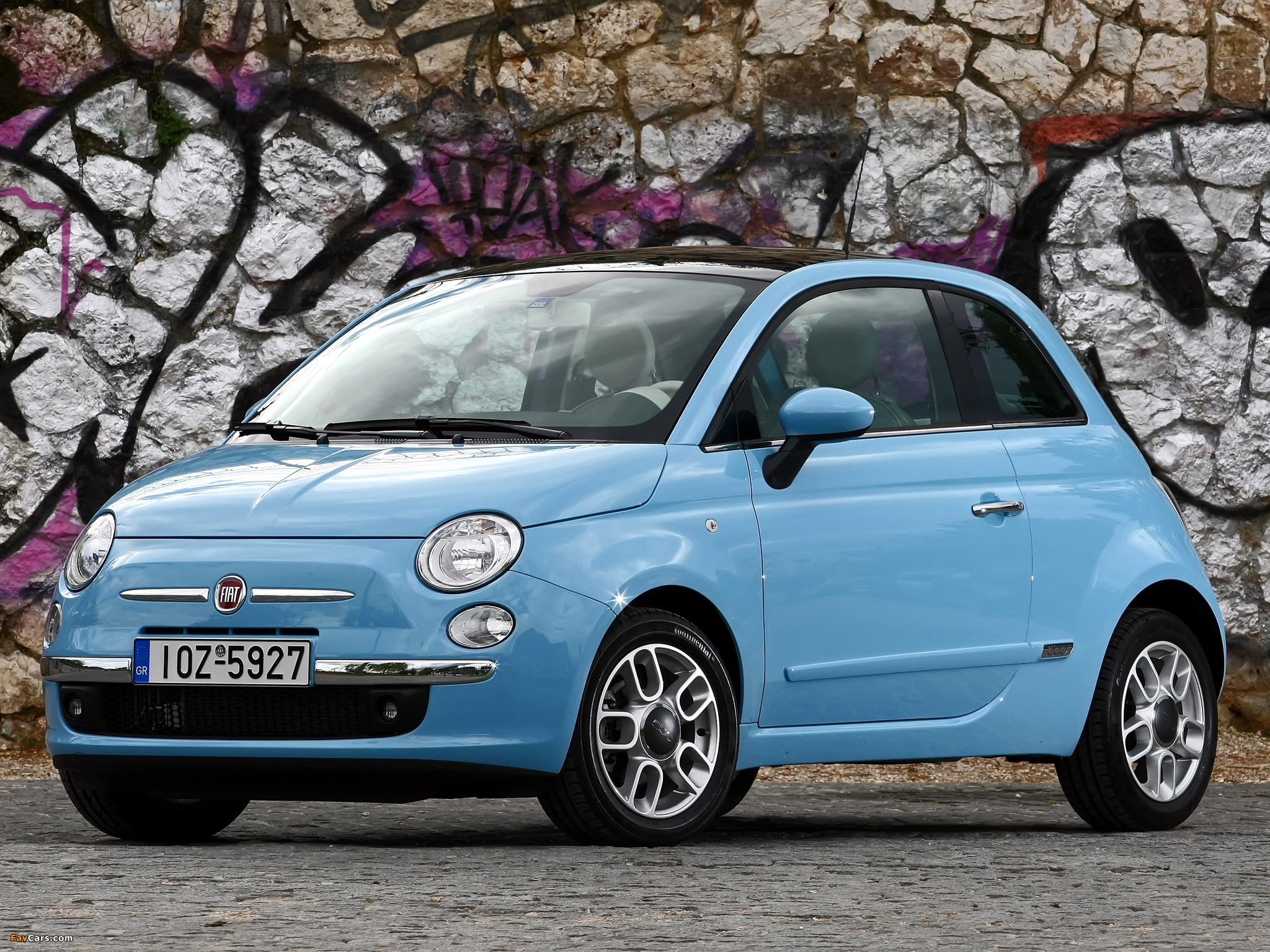 fiat 500 twinair 2010 pictures 2048x1536. Black Bedroom Furniture Sets. Home Design Ideas