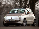 Aznom Fiat 500C Sassicaia Limited Edition 2010 wallpapers