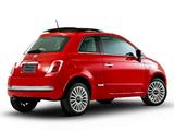 Fiat 500 Lounge Air BR-spec 2011 images