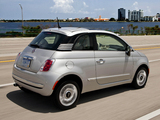 Fiat 500 Lounge US-spec 2011 images