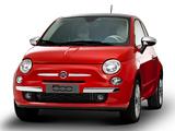 Fiat 500 Lounge Air BR-spec 2011 photos