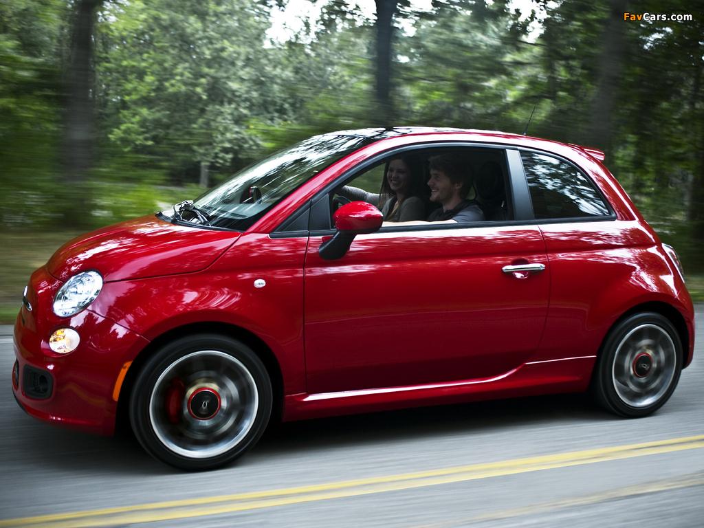 Fiat 500 Sport US-spec 2011 photos (1024 x 768)